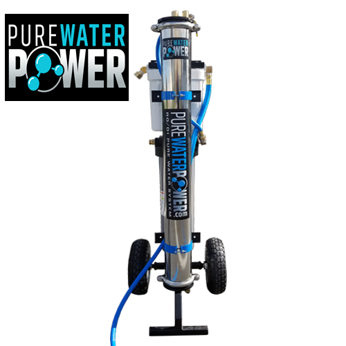 Pure Water Power 4 Stage Rodi Purification System 20 Inch