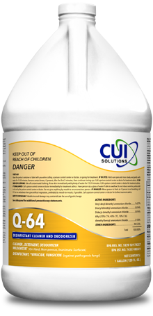 Q-64 Hospital Grade Sanitizer/Disinfectant cleaner
