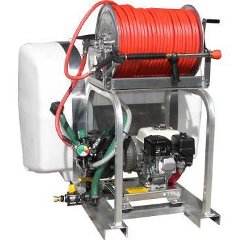 10.5 Gallon per minute soft wash skid, COMPLETE WITH TANK - PressureCity