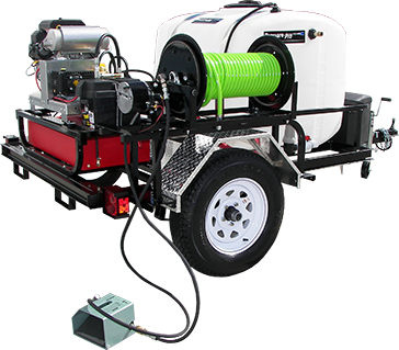 Pressure Pro HDC Tow-Pro Jet Sewer Jetter Trailer