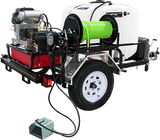 Pressure Pro HDC Tow-Pro Jet Sewer Jetter Trailer Belt Drive