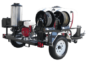 Hot Shot Tow-Pro Trailer 4GPM Direct Drive