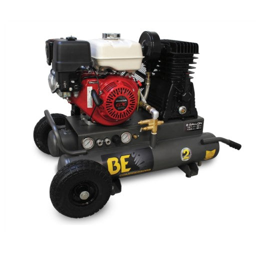 BE 20.5CFM Gas Air Compressor - Wheelbarrow Style