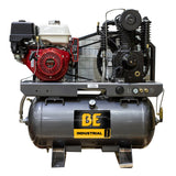 BE 23CFM @ 175PSI Industrial 30 Gallon Gas Compressor