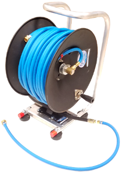 Viper Waterfed pole hose reel assemblies with hose - PressureCity