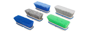 "10"" Blue (Premium) Truck Wash Brush w/ Bumper - PressureCity"