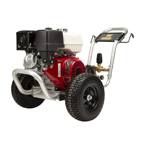 BE GX390 5GPM 3000PSI aluminum cart pressure washer Belt Drive