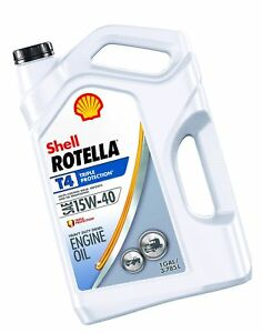 Shell Rotella T4 15W-40 Engine Oil - Gallon