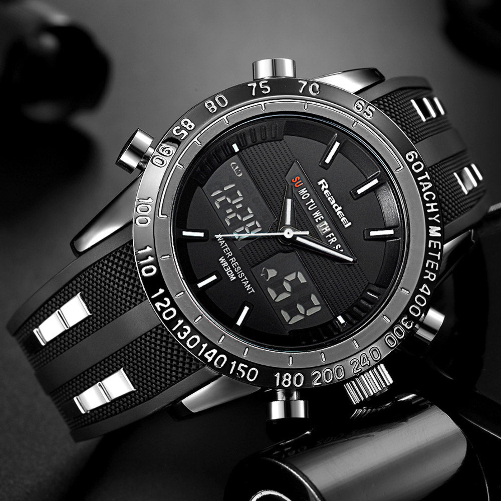Rugged and Stylish Men Sports Watch