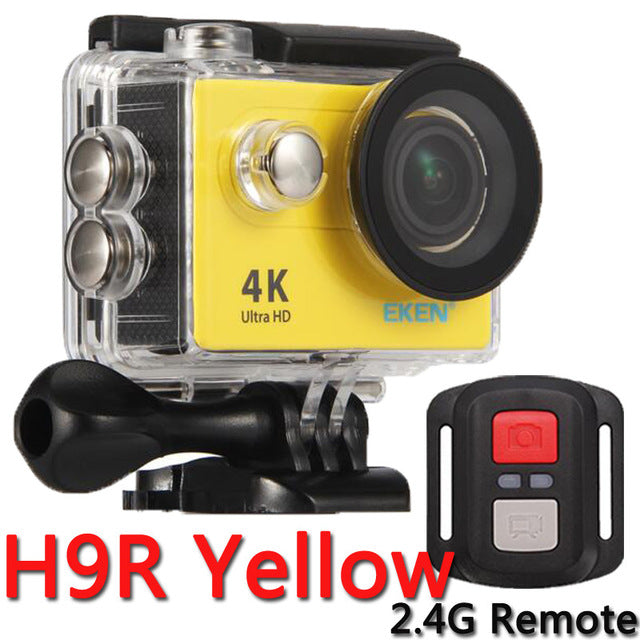 Original EKEN Action Camera eken H9R / H9 Ultra HD 4K WiFi Remote Control Sports Video Camcorder DVR DV go Waterproof pro Camera