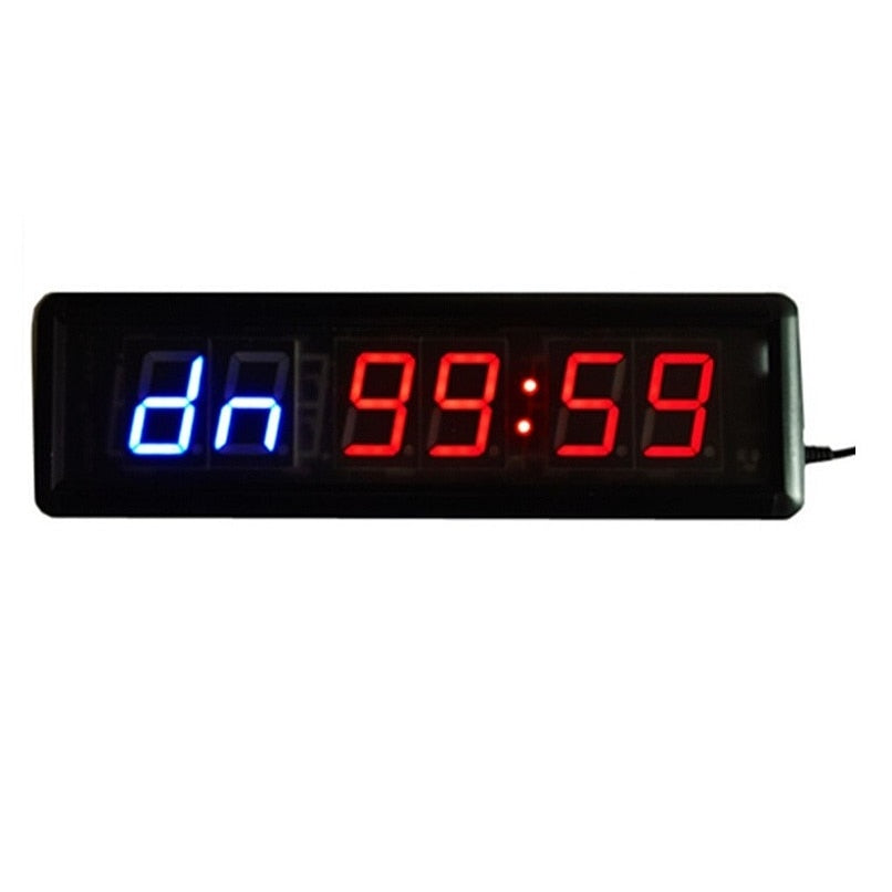 1.8'' 6 Digit LED Countdown Interval Clock