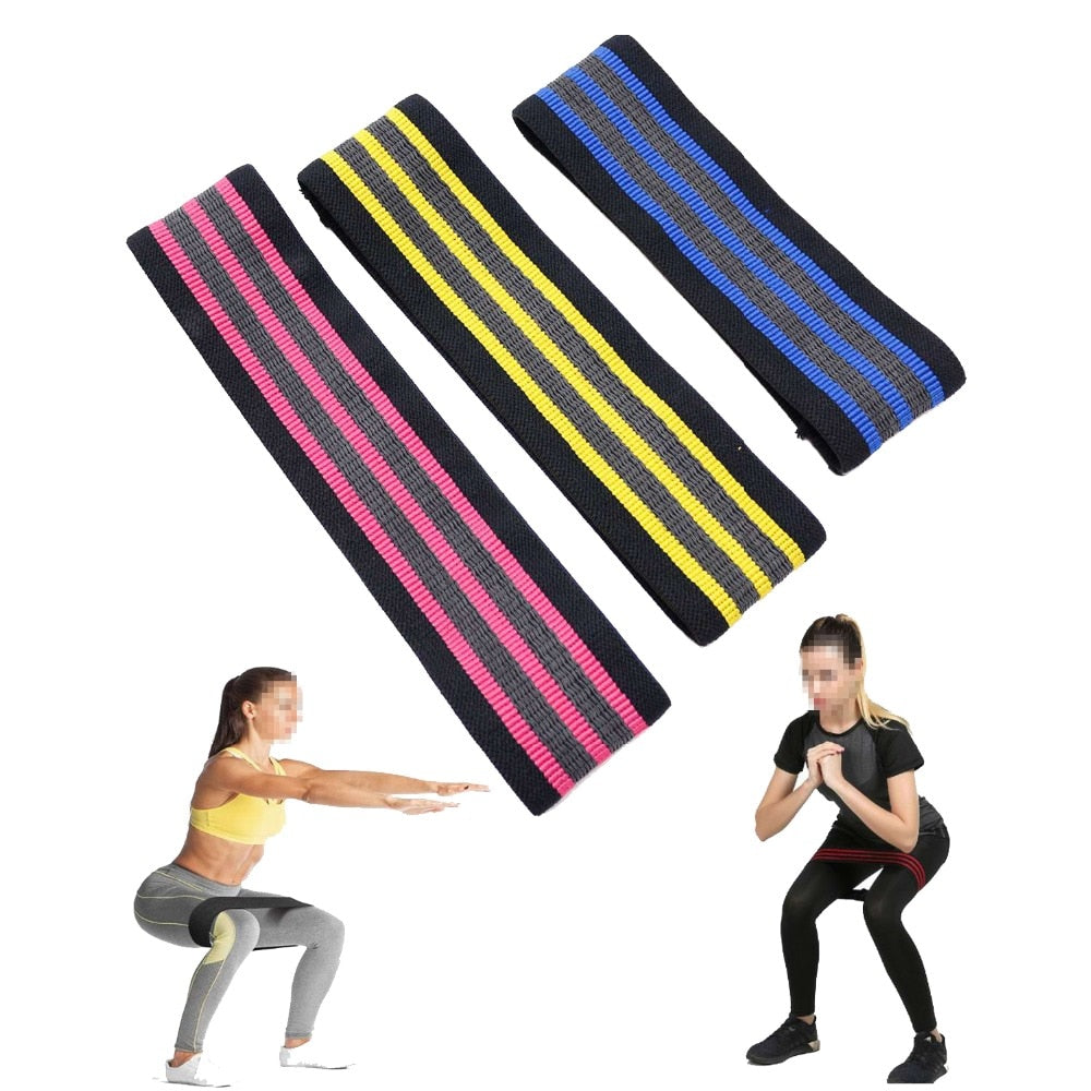 Hip Circle Exercise Resistance Bands Hip & Glute Builder