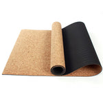 Cork Natural Rubber Yoga Mat