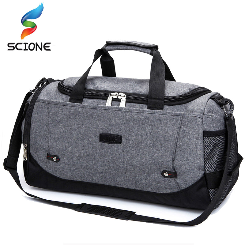 Fashionable Gym Bag for Men and Woman Fitness Durable Multifunction Handbag Outdoor Sporting Tote