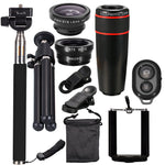 10 Piece Universal Telephoto Complete Phone Kit