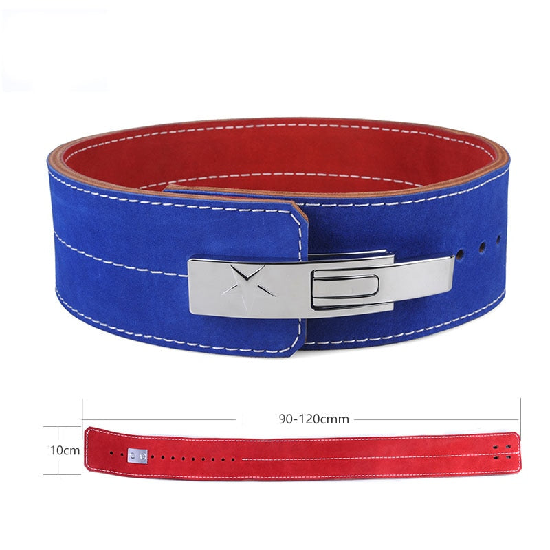 Pro Quality Leather  Cam Buckle Weightlifting Belt