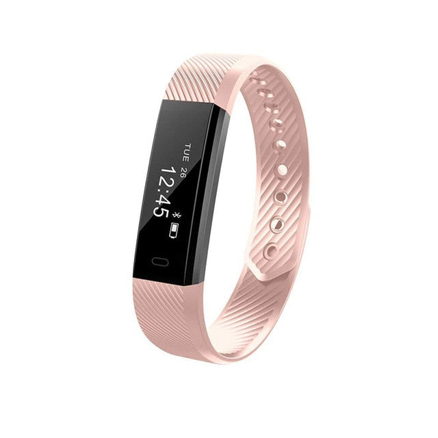 Smart Band Bluetooth Pedometer Fitness Tracker Watch for Android & iOS