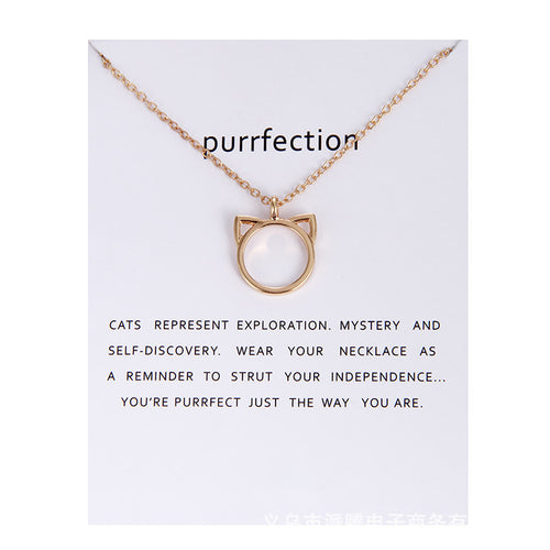 Purrfection Necklace - MyTopCat