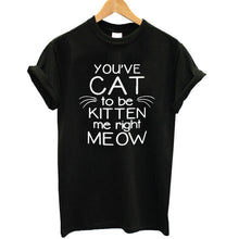 Load image into Gallery viewer, Meow T-shirt - MyTopCat
