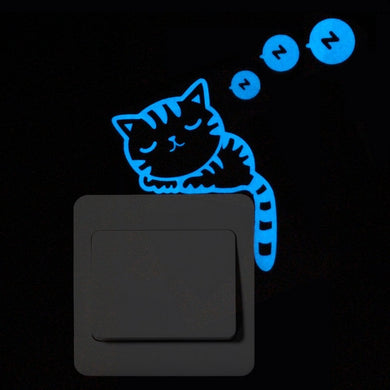 Blue Glow in the Dark Stickers - MyTopCat