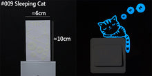 Load image into Gallery viewer, Blue Glow in the Dark Stickers - MyTopCat
