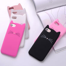 Load image into Gallery viewer, Whiskers and Ears iPhone Case - MyTopCat