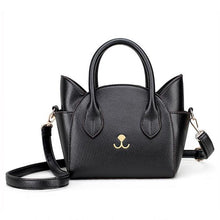 Load image into Gallery viewer, Cat Nose Leather Handbag - MyTopCat