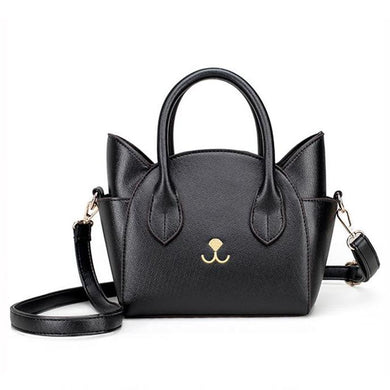 Cat Nose Leather Handbag - MyTopCat