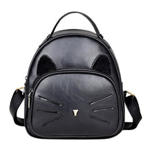 Load image into Gallery viewer, Cat Whiskers Leather Backpack - MyTopCat