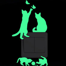 Load image into Gallery viewer, Green Glow in the Dark Stickers - MyTopCat