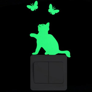 Green Glow in the Dark Stickers - MyTopCat