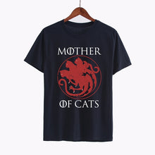 Load image into Gallery viewer, Mother of Cats T-shirt - MyTopCat