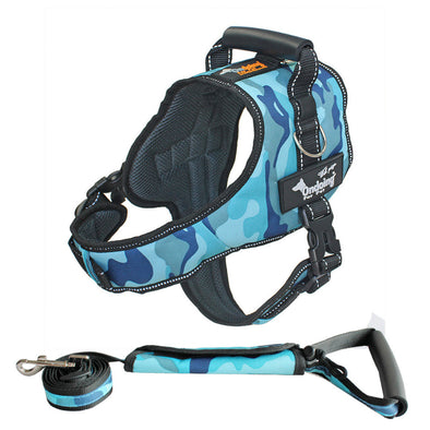 Large Dog Harness leash set no pull