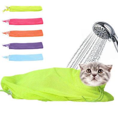 Mesh Pet Bag For Bath