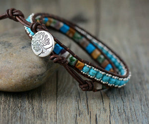 Handmade Bracelet With Natural Stones