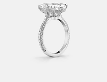 Load image into Gallery viewer, KLETA Sterling silver 5 Ct Solitaire handcrafted ring