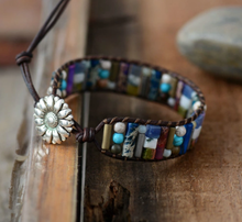 Load image into Gallery viewer, BERYL Handmade Leather Bracelet