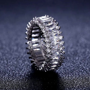 Stella Ring In White Gold