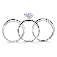 Load image into Gallery viewer, SHEEBA Sterling Silver ring set