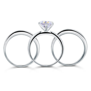 SHEEBA Sterling Silver ring set