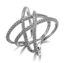 Load image into Gallery viewer, ZEPHYRA ring  In White Gold