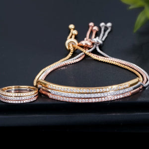HADYA bracelet & ring set