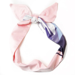 MILA SATIN WIRED HEADBAND