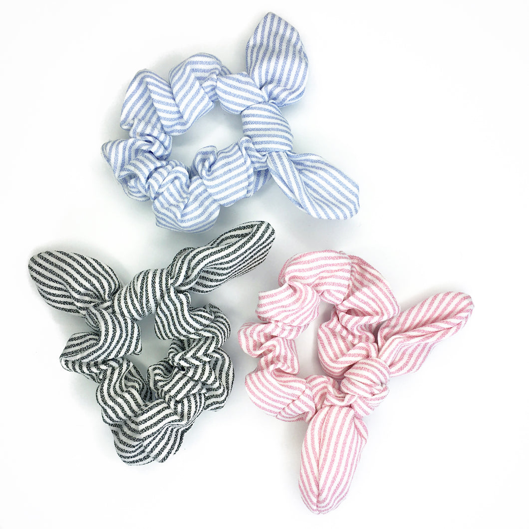 NICOLE STRIPED SCRUNCHIE