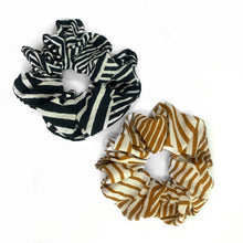 MILA GEOMETRIC SCRUNCHIE