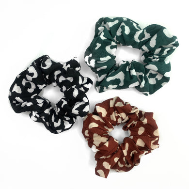 KHLOE ANIMAL PRINT SCRUNCHIE