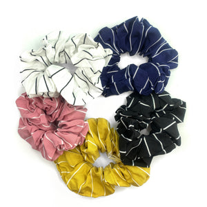 PAIGE STRIPED SCRUNCHIE