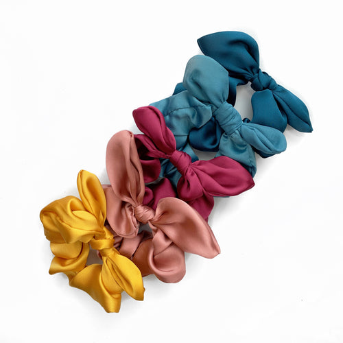 GRETA SATIN SCRUNCHIE