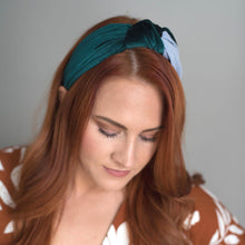 CANDICE VELVET & STRIPE HEADBAND