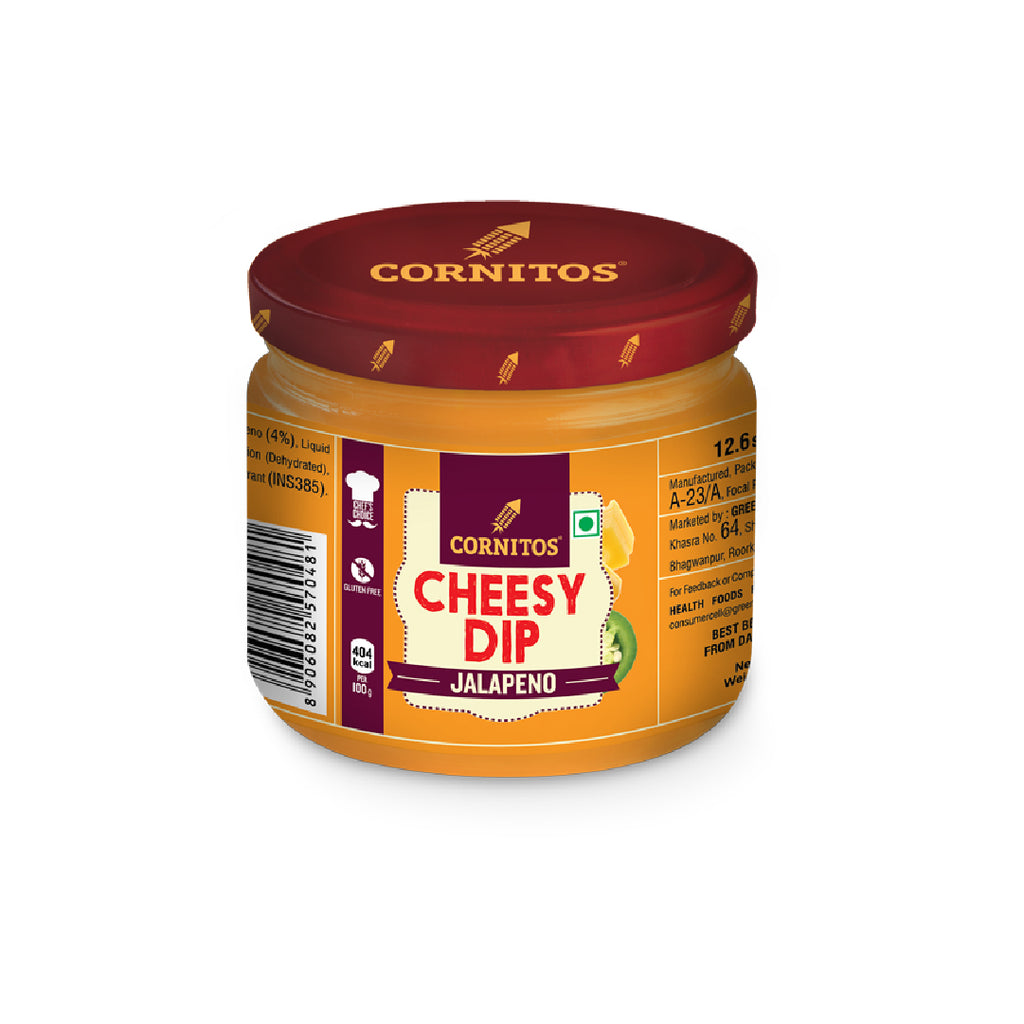 Cor Cheese Dip Jalapeno 100Gm